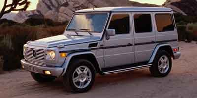 2003 Mercedes G-Class  Four Wheel Drive Traction Control Stability Control LockingLimited Slip