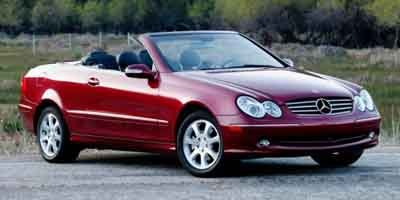 2004 Mercedes CLK-Class Cabriolet 32L Traction Control Stability Control Rear Wheel Drive Tires