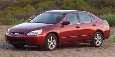 2003 Honda Accord Sdn EX Front Wheel Drive Engine Immobilizer Tires - Front All-Season Tires - R