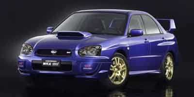 2004 Subaru Impreza Sedan WRX STI Turbocharged LockingLimited Slip Differential All Wheel Drive