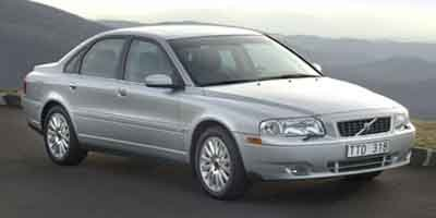 2004 Volvo S80 4 Door Sedan Turbocharged Traction Control Stability Control Front Wheel Drive T