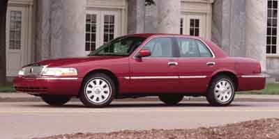 2004 Mercury Grand Marquis M75 LS Automatic Dark Toreador Red Clearcoat Metallic Traction Contro