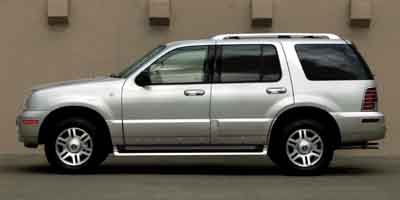 2004 Mercury Mountaineer Luxury Rear Wheel Drive Tow Hitch Tires - Front All-Terrain Tires - Rea