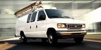 2004 Ford Econoline Cargo Van VAN E-150 Rear Wheel Drive Tires - Front All-Season Tires - Rear Al
