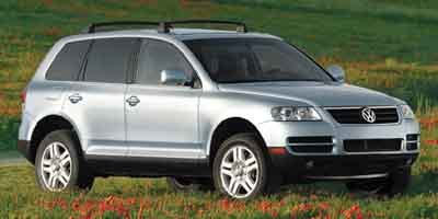 2004 Volkswagen Touareg  Traction Control Stability Control Four Wheel Drive Tires - Front All-S