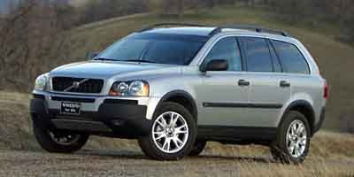 2004 Volvo XC90 25T Turbocharged Traction Control Stability Control All Wheel Drive Tires - Fr