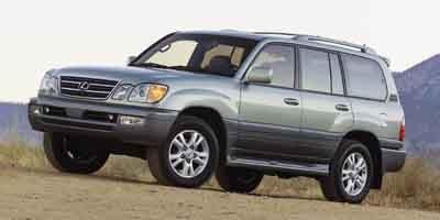 2004 Lexus LX 470 470 Four Wheel Drive Traction Control Air Suspension Active Suspension Tires