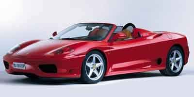 2003 Ferrari 360 2dr Convertible Spider