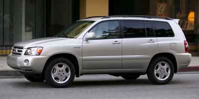 2004 Toyota Highlander Base Traction Control Stability Control Front Wheel Drive Tires - Front A