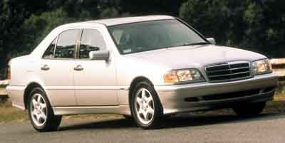 2000 Mercedes C-Class Kompressor Supercharged Traction Control Stability Control Rear Wheel Driv