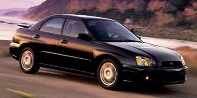2004 Subaru Impreza Sedan RS