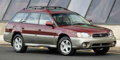 2004 Subaru Legacy Wagon Outback H6 LL Bean Edition All Wheel Drive Tires - Front OnOff Road T