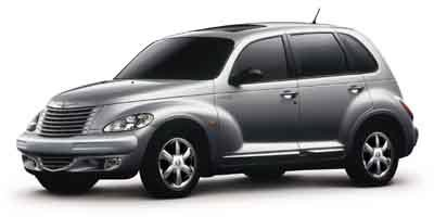 2004 Chrysler PT Cruiser GT Turbocharged High Output Traction Control Front Wheel Drive Tires -