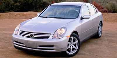 2004 Infiniti G35 Sedan with Leather Traction Control Stability Control All Wheel Drive Tires -