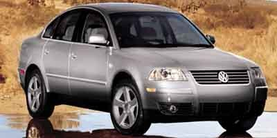 2004 Volkswagen Passat Sedan GLS Turbocharged Traction Control All Wheel Drive Tires - Front All