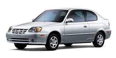 2004 Hyundai Accent GL Front Wheel Drive Tires - Front All-Season Tires - Rear All-Season Tempor