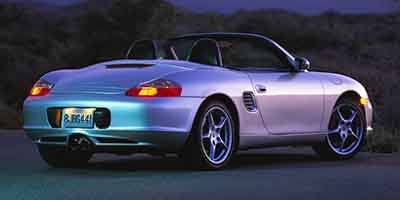 2004 Porsche Boxster S Rear Wheel Drive Tires - Front Performance Tires - Rear Performance Alumi