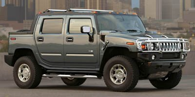 2005 HUMMER H2 SUT  325 hp horsepower 4 Doors 4-wheel ABS brakes 6 liter V8 engine 8-way power