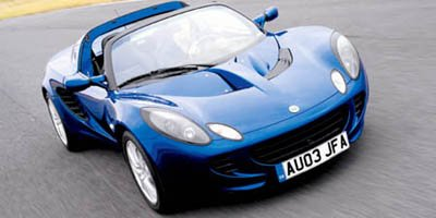 2005 Lotus Elise  Rear Wheel Drive Tires - Front Performance Tires - Rear Performance Aluminum W