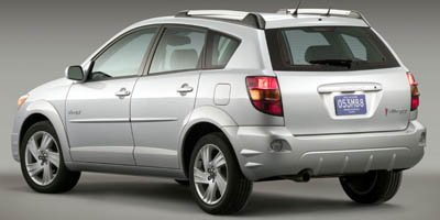 2005 Pontiac Vibe  Front Wheel Drive Tires - Front Performance Tires - Rear Performance Temporar