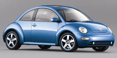 2004 Volkswagen New Beetle Coupe Satellite Blue Front Wheel Drive Tires - Front Performance Tires