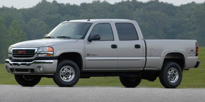 2005 GMC Sierra 2500HD Crew Cab 4wd 15 Four Wheel Drive Tow Hooks Tires - Front All-Season Tires