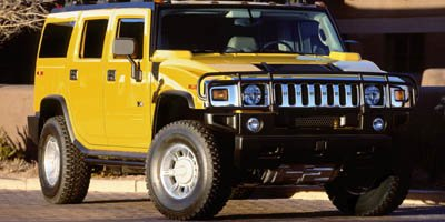 2005 HUMMER H2 SUV Four Wheel Drive LockingLimited Slip Differential Traction Control Tow Hooks