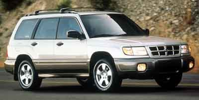 2000 Subaru Forester S All Wheel Drive LockingLimited Slip Differential Tires - Front All-Season