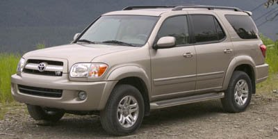2005 Toyota Sequoia Limited REAR SPOILER Traction Control Stability Control Rear Wheel Drive To