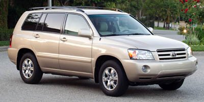 2005 Toyota Highlander Limited  230 hp horsepower 33 L liter V6 DOHC engine with variable valve