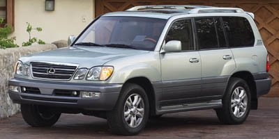 2005 Lexus LX 470  Four Wheel Drive Traction Control Air Suspension Active Suspension Tires - F