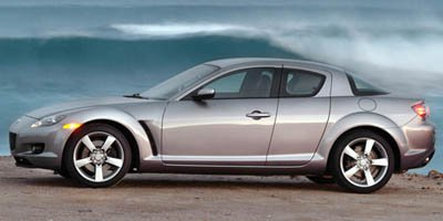 2006 Mazda RX-8  Rotary engine Rear Wheel Drive Tires - Front Performance Tires - Rear Performan