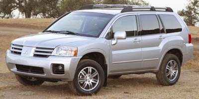 2005 Mitsubishi Endeavor Limited All Wheel Drive Tow Hitch Tires - Front OnOff Road Tires - Rea