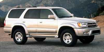 2000 Toyota 4Runner Limited Four Wheel Drive Tires - Front OnOff Road Tires - Rear OnOff Road