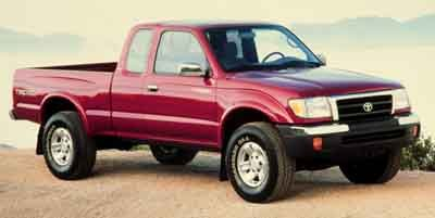 2000 Toyota Tacoma  Rear Wheel Drive Tires - Front All-Season Tires - Rear All-Season Wheel Cove