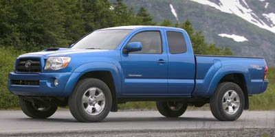2005 Toyota Tacoma Base Rear Wheel Drive Tires - Front All-Season Tires - Rear All-Season Conven