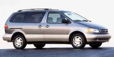 2000 Toyota Sienna  Front Wheel Drive Tires - Front All-Season Tires - Rear All-Season Conventio