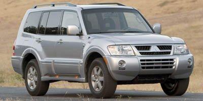 2005 Mitsubishi Montero LTD Traction Control Four Wheel Drive Tow Hooks Tires - Front OnOff Roa