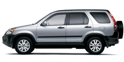2005 Honda CR-V EX Traction Control Stability Control Four Wheel Drive Tires - Front All-Season