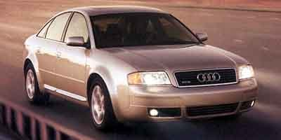 2001 Audi A6 42 All Wheel Drive Traction Control Stability Control Tires - Front Performance T