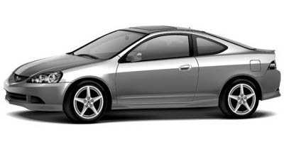 2005 Acura RSX Type-S Front Wheel Drive Tires - Front Performance Tires - Rear Performance Alumi