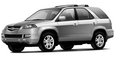 2005 Acura MDX 35L Four Wheel Drive Tires - Front All-Season Tires - Rear All-Season Aluminum W