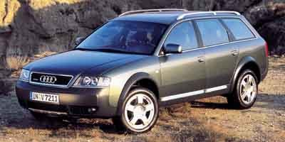 2001 Audi allroad Quattro AWD Turbocharged All Wheel Drive Traction Control Air Suspension Stab