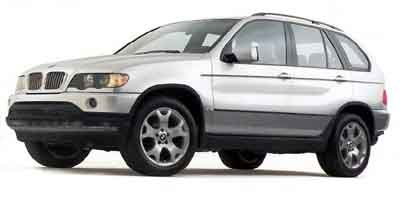 2001 BMW X5 30L Traction Control All Wheel Drive Stability Control Tires - Front All-Season Ti