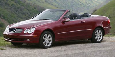 2005 Mercedes CLK-Class 32L Traction Control Stability Control Rear Wheel Drive Tires - Front P