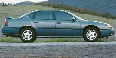 2001 Chevrolet Impala LS Traction Control Front Wheel Drive Tires - Front All-Season Tires - Rea