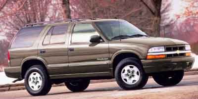 2001 Chevrolet Blazer  Rear Wheel Drive Tires - Front All-Season Tires - Rear All-Season Convent