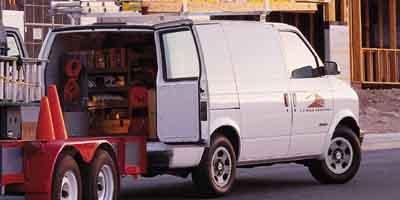 2001 Chevrolet Astro Cargo Van  Rear Wheel Drive Tires - Front All-Season Tires - Rear All-Season