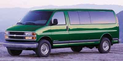 2001 Chevrolet Express Van Van Rear Wheel Drive Tires - Front All-Season Tires - Rear All-Season