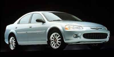 2001 Chrysler Sebring LXi Front Wheel Drive Tires - Front All-Season Tires - Rear All-Season Tem